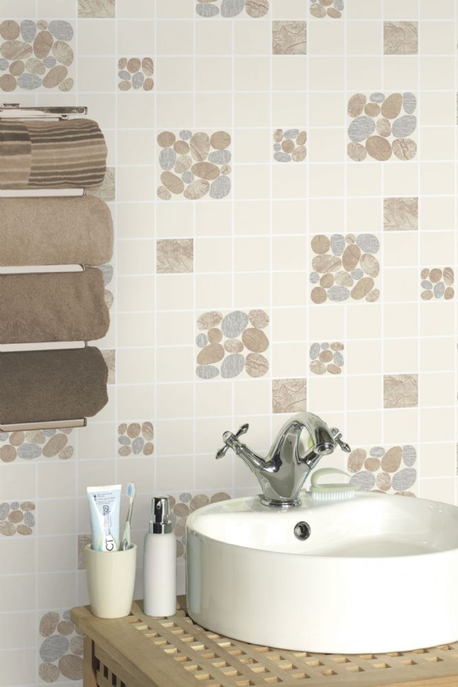 Holden Decor Kitchen & Bathroom Pebble 89122 Wallpaper